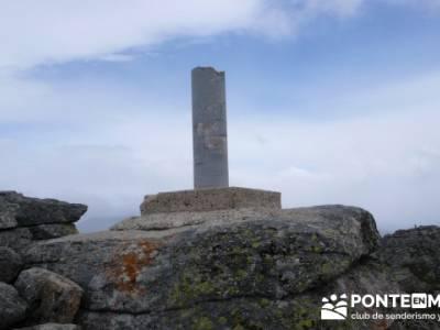 La Peñota y Peña del Arcipreste;clubs montaña madrid;clubs de montaña madrid